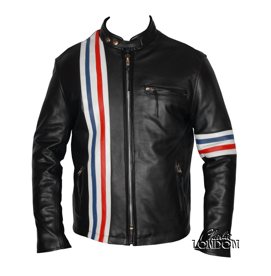 Peter Fonda Easy Rider Leather Motorcycle Jacket