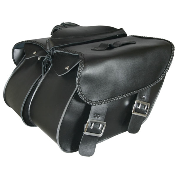 Extra Large PVC Saddle Bag