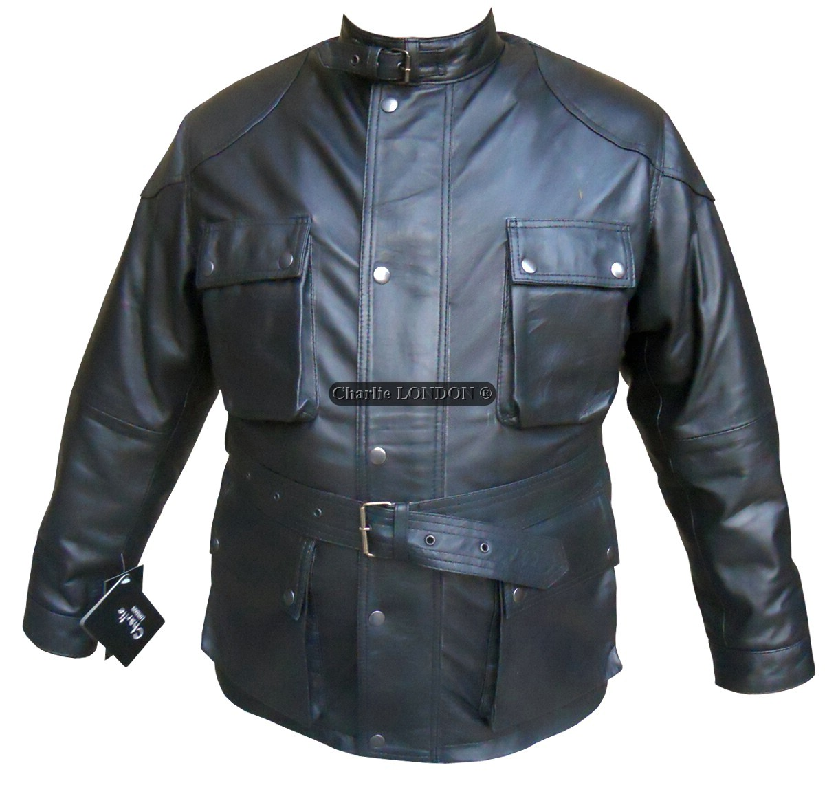 Panther Motorcycle Leather Jacket